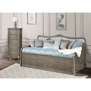 Bargain Troutdale Twin Daybed with Trundle by Greyleigh Reviews (2019) & Buyer's Guide
