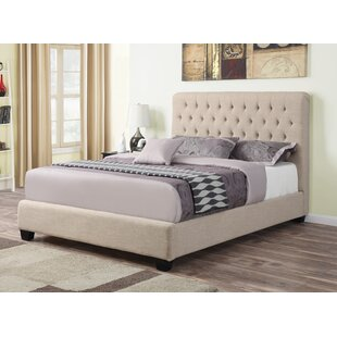Success Upholstered Panel Bed by Three Posts