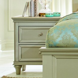 Reviews Celine 2 Drawer Nightstand by Willa Arlo Interiors