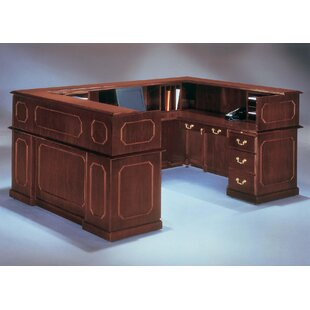 Governor's U-Shape Reception Desk by Flexsteel Contract