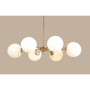 Scotty 6-Light Sputnik Chandelier