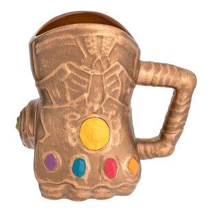 Marvel Infinity Wars Gauntlet Sculpted Ceramic Coffee Mug