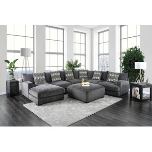 Ruthanne Modular Sectional With Ottoman by Latitude Run 2019 Coupon