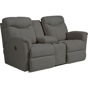 Fortune Full Reclining Sofa with Console by La-Z-Boy