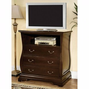 Charlton Home Rosson Media 4 Drawer Chest