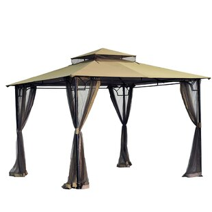 Replacement Canopy for 10' W x 10' D Bamboo Gazebo by Sunjoy