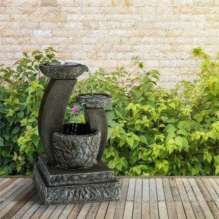 Fantaghiro Acrylic Solar Fountain With Light By Blumfeldt