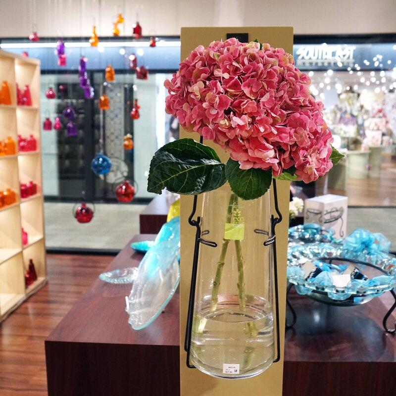 Couronne 19 Hanging Lantern Glass Wall Vase Wayfair
