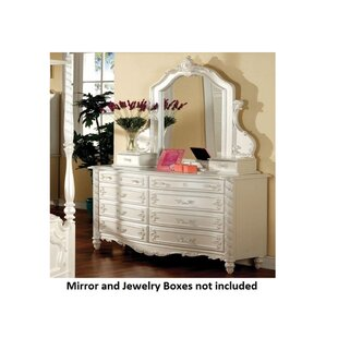 Seligman 8 Drawer Double Dresser by Rosdorf Park