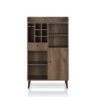 Pryor Wine Bar With Storage