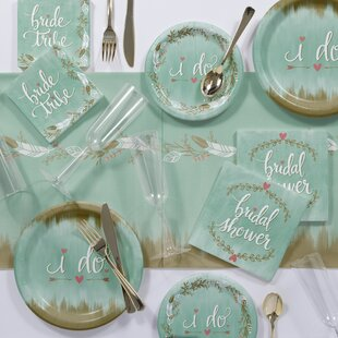 to be bridal shower party supplies kit