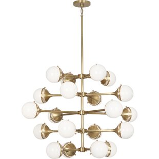 Robert Abbey Jonathan Adler Rio 20-Light Sputnik Chandelier