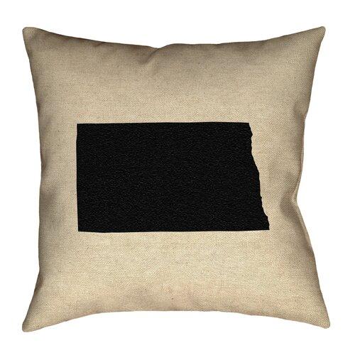 Ivy Bronx Austrinus Nebraska Pillow In Faux Suede Double Sided Print Pillow Cover Wayfair