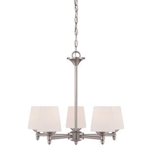 Red Barrel Studio Lafrance 5-Light Shaded Chandelier