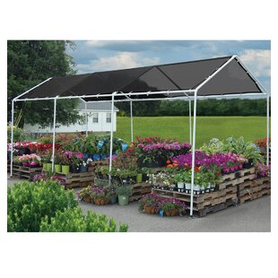 Shade 8 Ft. W x 20 Ft. D Metal Grill Gazebo Canopy by ShelterLogic