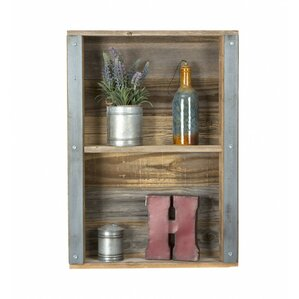 Wood And Metal Wall Shelves metal wall shelves you'll love | wayfair