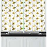 Fruit Print Kitchen Curtains | Wayfair