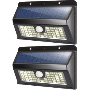 Deluxe Comfort Solar Garden 45 Light LED Flood light (Set of 2)