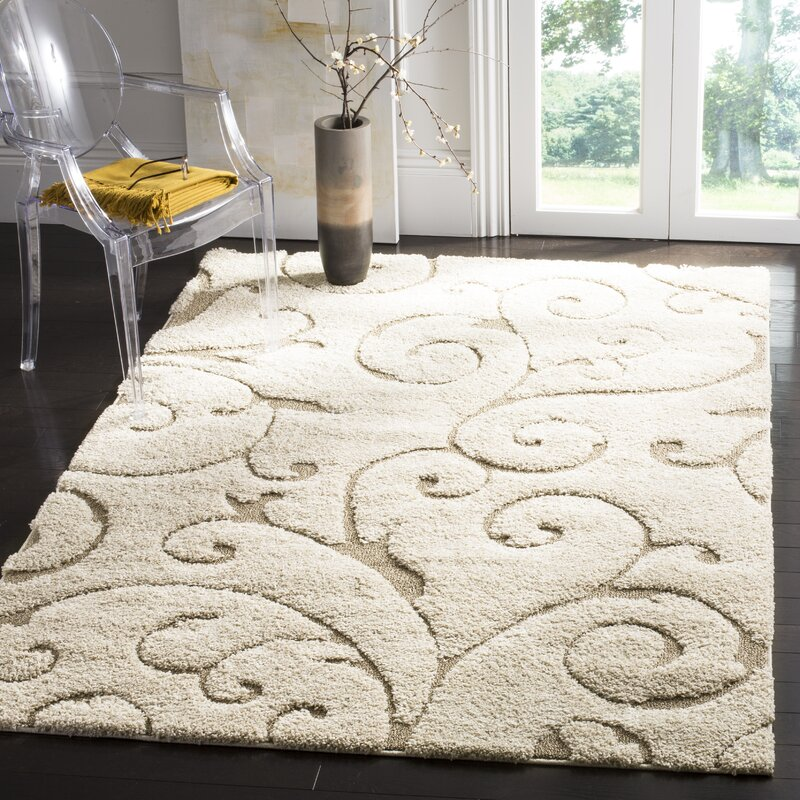 Alcott Hill Henderson Beige Cream Area Rug Amp Reviews Wayfair
