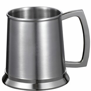 Medi Beer Glass 16 oz. Stainless Steel