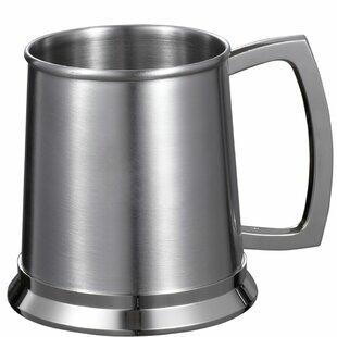 Medi Beer Glass 16 oz. Stainless Steel