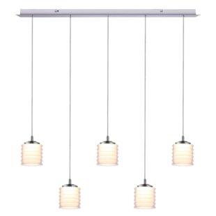 Boley 5-Light LED Cluster Pendant by Orren Ellis