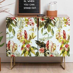 Marta Barragan Camarasa Botanical Jungle Bouquet Sideboard by East Urban Home