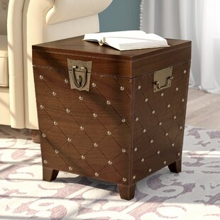 Hassania Nailhead Trunk End Table