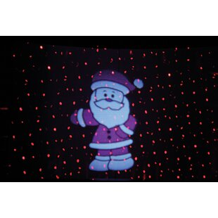 3 Red/White LED Laser Moving Picture Lamp Light By The Seasonal Aisle