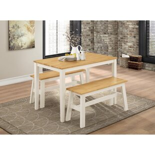 Susanna Dining Set With 2 Benches By Marlow Home Co.