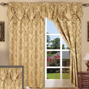 Curtains With Gold Accents Wayfair