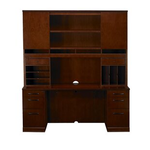 Sorrento Series Executive Desk with Hutch