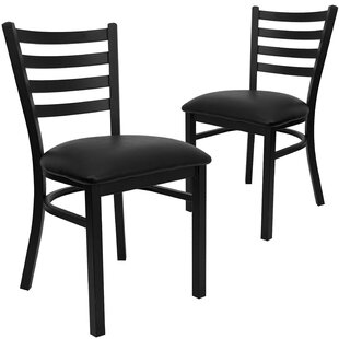 Chafin Upholstered Dining Chair (Set of 2) Winston Porter