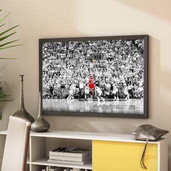 ce3d916bc4ea02  Michael Jordan - the Last Shot Sports - NBA Chicago Bulls Superstar Legend  Black and.