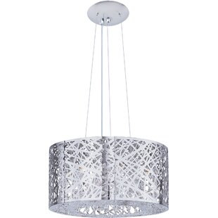 Ebern Designs Haings 7-Light Drum Pendant