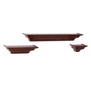 Three Posts 3 Piece Floating Shelf Set