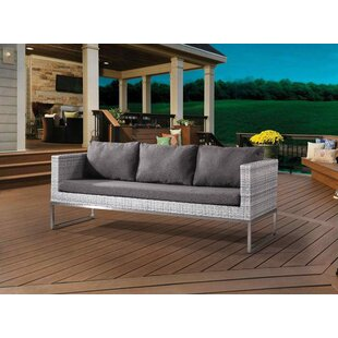 Goncalves Patio Sofa with Cushions