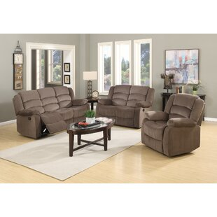 Compare prices Updegraff Reclining 3 Piece Living Room Set by Winston Porter Reviews (2019) & Buyer's Guide