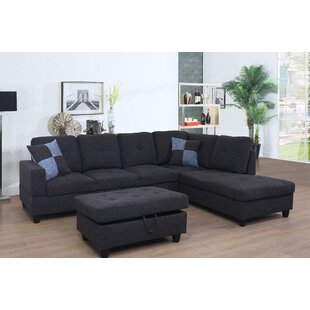 Borquez Sectional with Ottoman