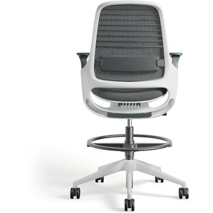 Steelcase Series 1 Stool Mesh Office Chair