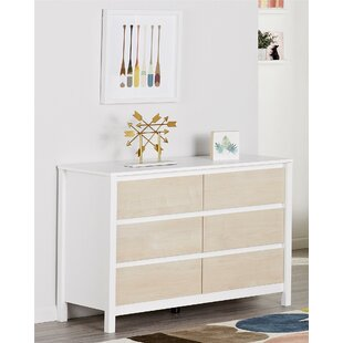 Low priced Addison 6 Drawer Double Dresser by Novogratz Reviews (2019) & Buyer's Guide
