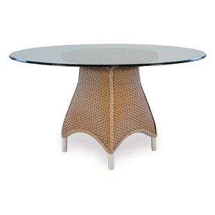 Lloyd Flanders Mandalay Wicker Rattan Dining Table