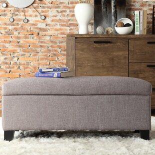 Three Posts Wyncrest Upholstered Storage Bench