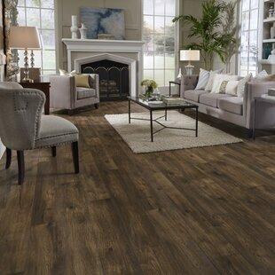 Restoration Wide Plank 8'' x 51'' x 12mm Hickory Laminate Flooring in Acorn