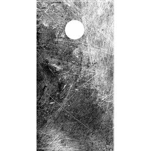 Lightning Cornhole Texture Cornhole Board