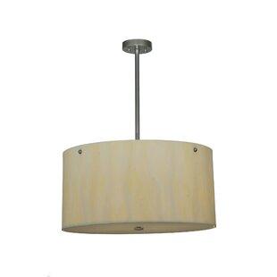 Meyda Tiffany Cilindro Faux Alabaster 6-Light Pendant