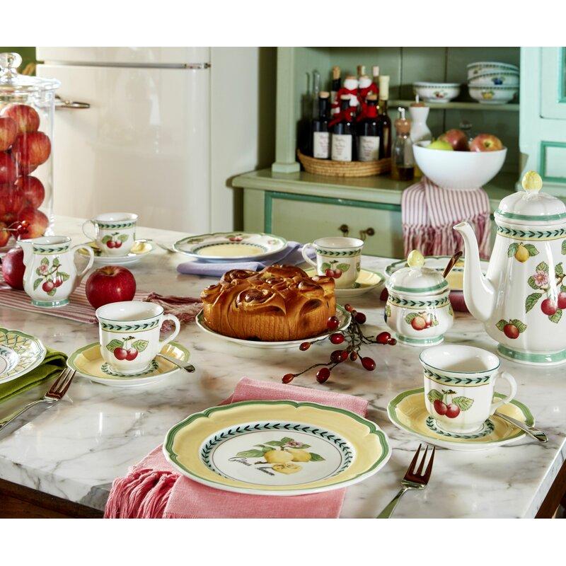 Villeroy Boch French Garden Fleurence Tea Cup Saucer