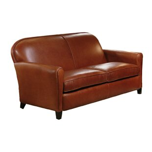 Omnia Leather Buenos Aires Leather Loveseat