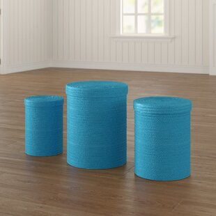 Set Of 3 Laundry Baskets (Set Of 3) By Symple Stuff