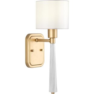 Jancis 1-Light Armed Sconce by Mercer41